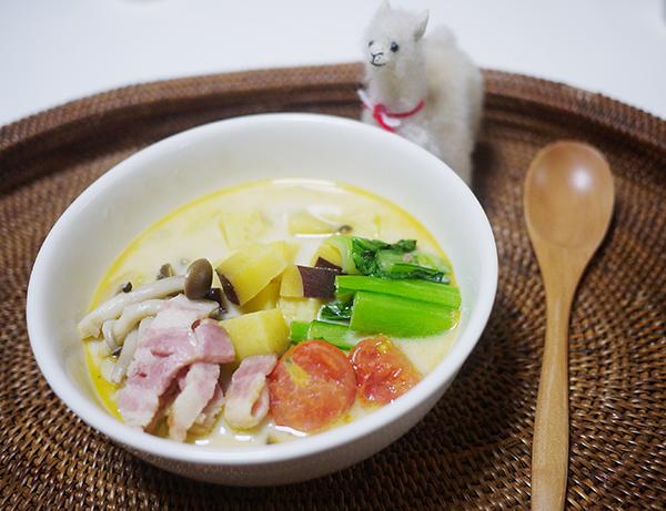 野菜たっぷり整腸スープ