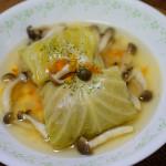 ロールキャベツスープ ~胃腸に優しく~