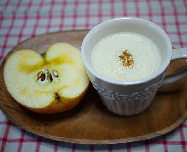 りんごヨーグルトのホットスムージー