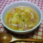 じゃがいもとキャベツのカレースープ ~煮るだけ簡単!コンソメ不要~