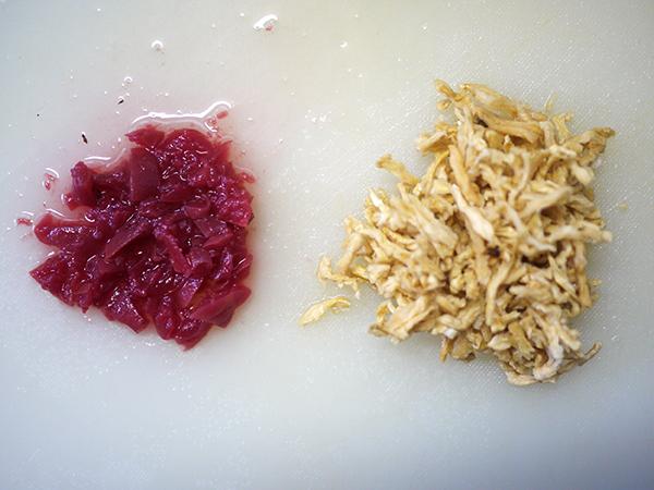 切り干し大根と梅干しのスピードスープ切り方