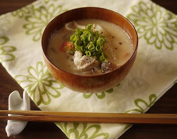 美腸スープ酒粕バージョン